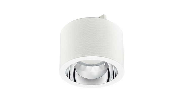 GreenSpace de Philips Lighting es una downlight energéticamente eficiente adecuada para comercios minoristas.