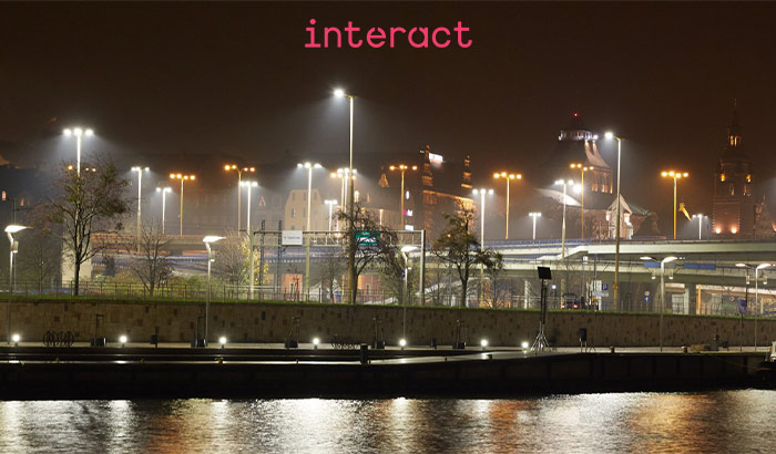 Interact City: alumbrado público más inteligente y habitable