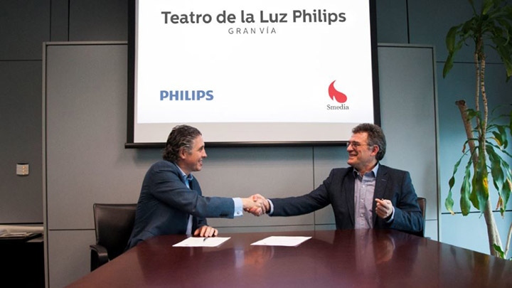 acuerdo philips lighting con grupo smedia